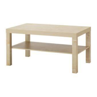 โต๊ะกลาง วางหน้าโซฟา โต๊ะรับแขก สีไม้ ขนาด90x55x45ซม. HappyHome
