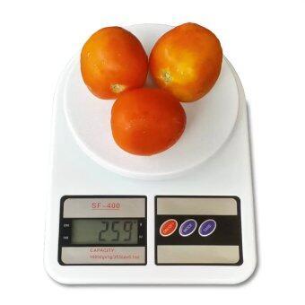 Aocoa Electronic Kitchen Scale Max 10 Kg. รุ่น SF-400 (สีขาว)