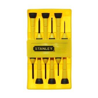 STANLEY ไขควง สำหรับงานละเอียด 6 ชิ้น รุ่น 66-052
