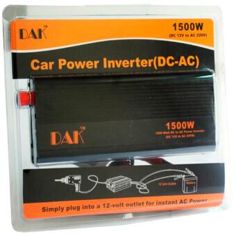 เครื่องแปลงกระแสไฟฟ้า Power inverter DC-AC DAK 12V-1500w