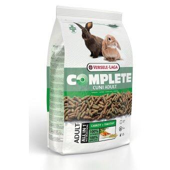 Versele-Laga อาหารกระต่ายโต ป้องกันโรคฟันยาว ขนนิ่มเงางาม สุขภาพสมบูรณ์แข็งแรงแบบ คอมพลีท Cuni Adult Complete Rabbit Food, 1.75kg.
