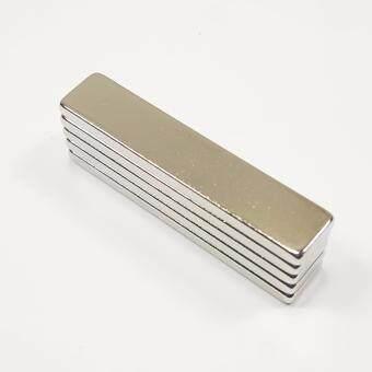 แม่เหล็กแรงสูง นีโอไดเมียม ขนาด 50mmx10mmx3mm (5 ชิ้น)