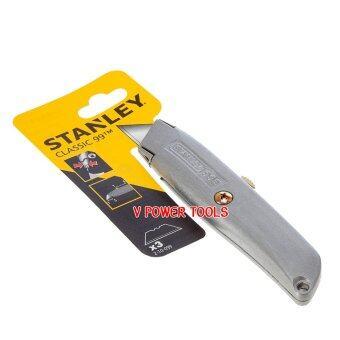 Stanley มีดคัตเตอร์อเนกประสงค์ ขนาด 6 นิ้ว พร้อม 3 ใบมีด รุ่น 10-099