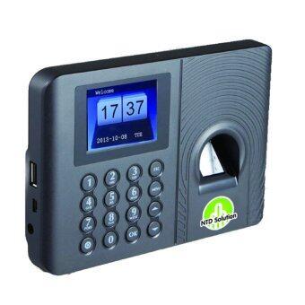 Finger เครื่องตอกบัตร บันทึกเวลา ด้วยระบบสแกนนิ้ว Finger scan time