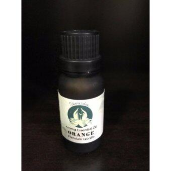 Sawasdee Aroma Oil อโรม่า ออย กลิ่น ส้ม 15ml ใช้กับ เครื่องพ่น เตาอโรม่า สปา Aroma Essential Oil 15ml Orange spa อุปกรณ์ เครื่องหอม น้ำหอม สมุนไพร สำหรับ ห้องนอน ห้องน้ำ สปา โรงแรม