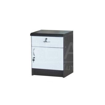 RF Furniture ตู้ข้างเตียง ( BS0401 ) สี โอ๊ค/ขาว