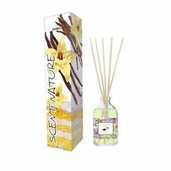 Thai scent Nature ก้านไม้หอมระเหย กลิ่น Vanilla 1 ขวด