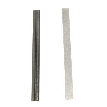 Harga 2Pcs 82mm Reversible HSS High Speed Steel Planer Blades For Electric Power Tool