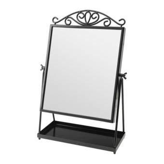คาร์มซุนด์ กระจกเงาตั้งโต๊ะสีดำ