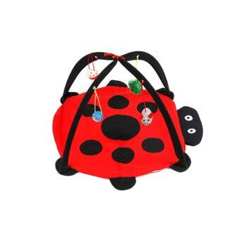 Harga Rondaful RD-DY308 Pet cat Dog cat cat bed tent bed amusement park playful kitty cat toys Multifunctional foldable