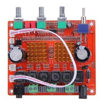 TPA3116D2 2.1 ตัวขยายสัญญาณเสียงแบบดิจิตอล 12 แชนแนล 50Wx2 + 100W แอมป์บอร์ด AMV 24V