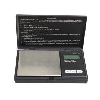 กระเป๋ามินิ 100กรัม x 0.01กรัมเครื่องชั่งดิจิตอลไฟฟ้าขนาดแม่นยำเครื่องเพชรพลอย