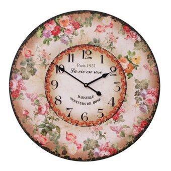 Kristra Home&Decoration 60CM. นาฬิกาแขวนผนัง แนววินเทจ รุ่น T70028