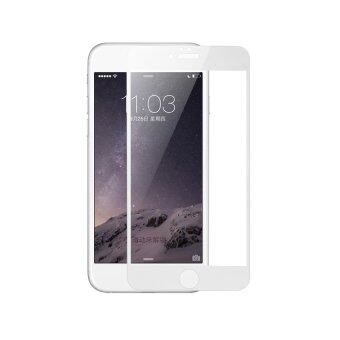 Baseus แก้วขนาดเล็กหน้าจอเต็มอารมณ์สำหรับ iPhone 6 Plus 5.5 (ขาว)