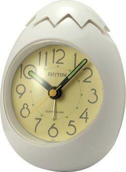 RHYTHM นาฬิกาปลุก 4RE886WT03 - White