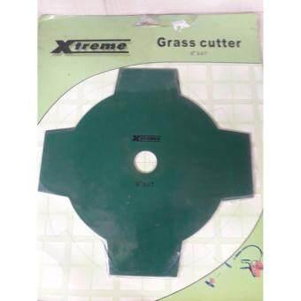 ใบตัดหญ้าชนิดพิเศษ ขนาด 9นิ้ว 4ฟัน ยี่ห้อ xtreme