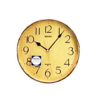 SEIKO นาฬิกาแขวน รุ่น QXA001YT (GOLD)