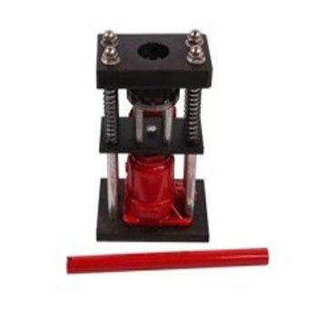 แท่นย้ำสายพ่นยา ย้ำสายแบบมือโยก แม่แรงย้ำสาย แท่นไฮดรอลิค (สีแดง)