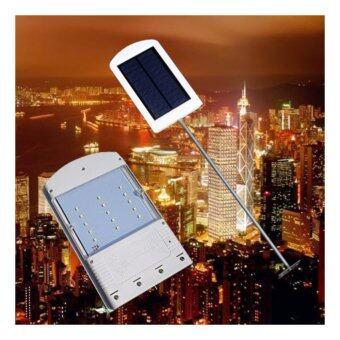 Smartman-Solar cell 15 LED โคมไฟส่องทาง พร้อมขา แสงไฟสีขาว