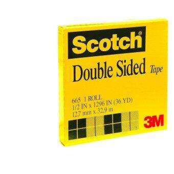 Scotch® เทปใสกาวสองหน้า Double Sided Tape Refill Rolls