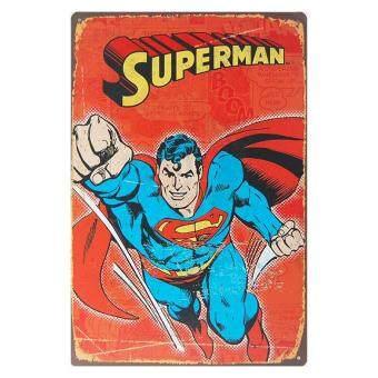 ป้ายสังกะสีวินเทจ Superman 2