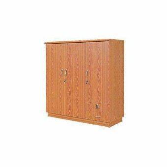 DSB Decor ตู้เสื้อผ้า 3 บาน รุ่น wk003p (สีสักทอง)