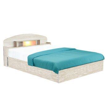 ADD BC - 301 เตียงนอนหัวโค้ง ขนาด 3.5 ฟุต รุน Candy สีโซลิด