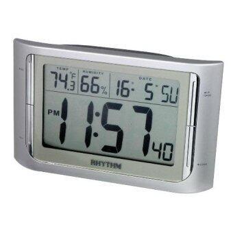 RHYTHM นาฬิกา LCD รุ่น LCT061NR19 - Silver