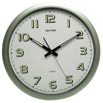 RHYTHM นาฬิกาแขวน(16นิ้ว) รุ่น CMG805NR05 (Green)
