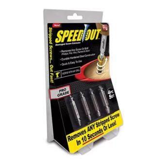 SPEEDOUT ชุดเครื่องมือถอนหัวน็อต/สกรู/ตะปู ที่ชำรุดฝังแน่นให้ถอนออกได้อย่างง่ายดายใน 10วินาที 2