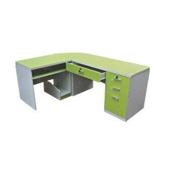 RF Furniture ชุดสำนักงาน Jopin สี เขียว/ขาว