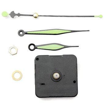 ขาย X-tips ชุดซ่อมเครื่องนาฬิกาแขวนผนัง แบบ Quartz กลไกเดินเงียบ (สีดำ)