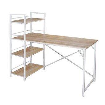 โต๊ะทำงานหน้าไม้ สไตล์มินิมอล