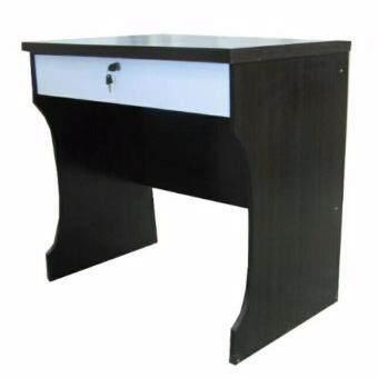 โต๊ะทำงาน ขนาด80ซม. รุ่นมีลิ้นชัก สีโอ็ค/ขาว RNC