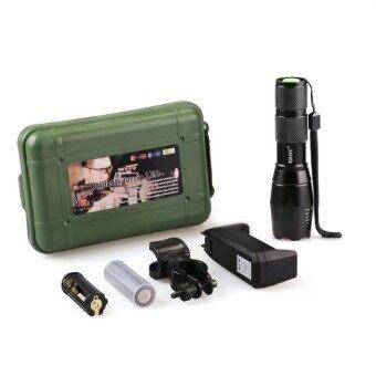 igootech Ultrafire 2200Lm CREE XML T6 LED Zoomable Flashlight Torch 5 Modes ไฟฉาย แรงสูง ซูมได้ แถมอุปกรณ์ครบชุด (price:950-)
