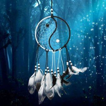 Harga Amart Handmade Dream Catcher With Feathers Car Wall Hanging Decoration Dreamcatcher - intl
