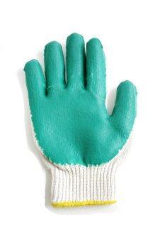 S-SHIR ถุงมือเคลือบยางธรรมชาติ (12 คู่/แพ็ค)