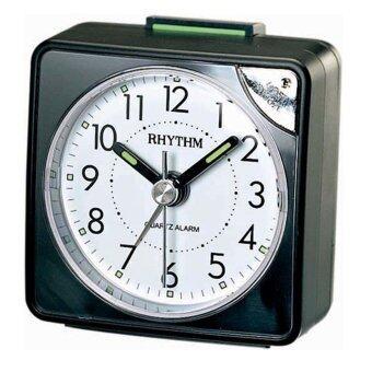 Rhythm นาฬิกาปลุก รุ่น CRE211NR02 - Black