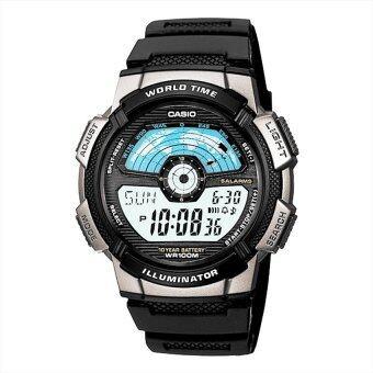 Casio นาฬิกาข้อมือผู้ชาย สายเรซิน รุ่น AE-1100W-1AVDF