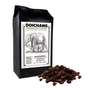 DoiChang Premium Coffee เมล็ดกาแฟดอยช้าง อาราบิก้า คั่วเข้ม (1ถุง - 250g.)