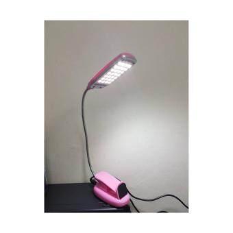 โคมไฟอ่านหนังสือบิดงอได้ Milk Series Product Light LED USB
