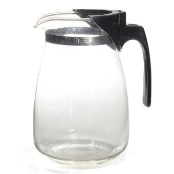Harga 900ml Tea Kettle Tea-pot Heat-Resistan Glass Teapot Convenient Office Tea Pot Set ETP002 - Intl