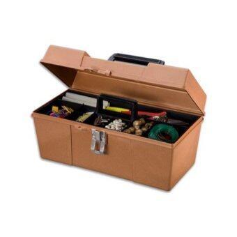 STACK-ON กล่อง พลาสติก อเนกประสงค์ 13 นิ้ว รุ่น GMBZ-13 (สีทอง)