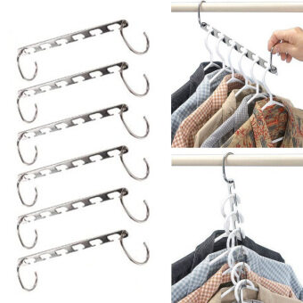 Harga Magic Clothes Closet Hangers Organizer
