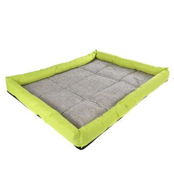 นิวนุ่มเย็นร้อนสัตว์เลี้ยงสุนัขนอนเสื่อ (Lemo สีเหลือง)