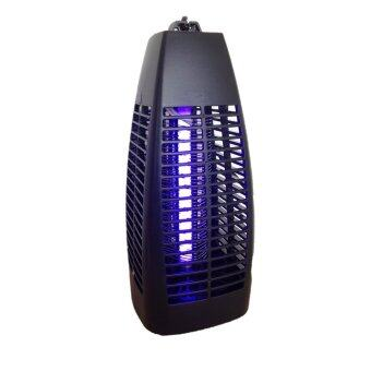 GooAB Shop เครื่องดักยุงระบบ ช๊อตไฟฟ้า พร้อมหลอดUV (Mata Mosquitos Electrico) (สีดำ)