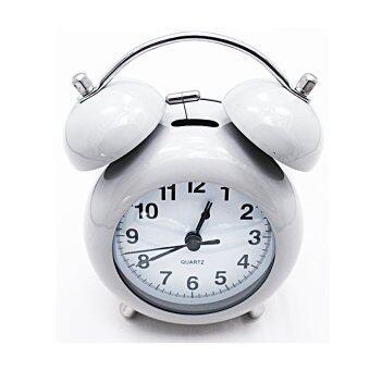 iBettalet นาฬิกาปลุก นาฬิกาตั้งโต๊ะ รุ่น WK-7701-2 ( สีเทา )