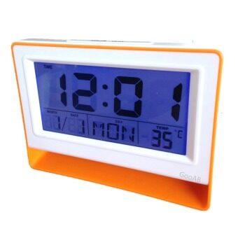 GooAB Shop นาฬิกาปลุกดิจิตอล แบบตั้งโต๊ะ หน้าจอ 6 นิ้ว