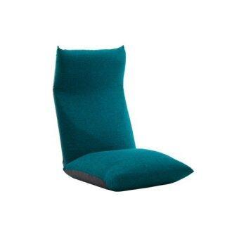 Waraku Chair Neck A578 SET Cover ฟลอร์แชร์นั่งสบายช่วยลดอาการปวดเอว(เก้าอี้พร้อมผ้าคลุม) (A578a-585BL)(Turquoise Blue )