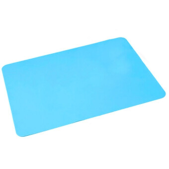 Harga Silicone Placemat Heat Resistant Pads Cooking Baking Mat Bakeware Table Heat Insulation Mat Light Blue